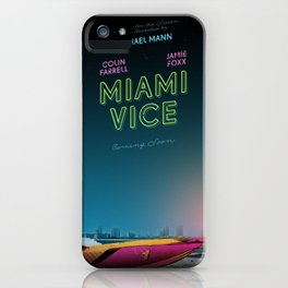 Miami Vice / Inherent Vice mashup poster iPhone Case