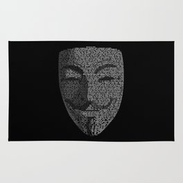 ...You May Call Me 'V' – So who's Anonymous? Rug