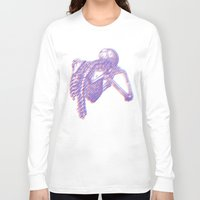 skeleton Long Sleeve T-shirts featuring Skeleton by Anderbear