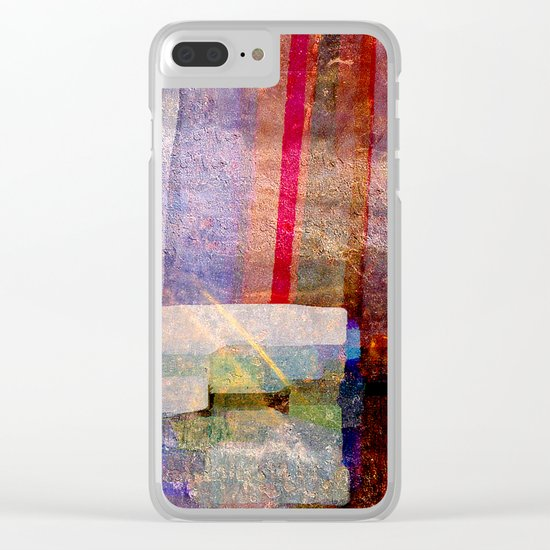 Art Construct Clear iPhone Case
