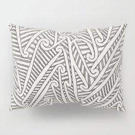 Maori Tattoo Pillow Sham