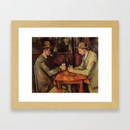 card Framed Art Print