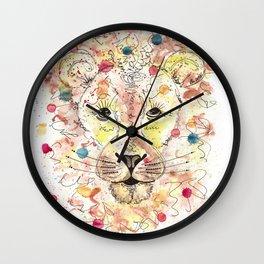 {Romeo} the Lion  Wall Clock
