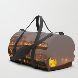 Vancouver in the Haze Duffle Bag
