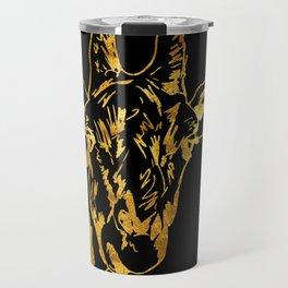 Golden Giraffe Travel Mug