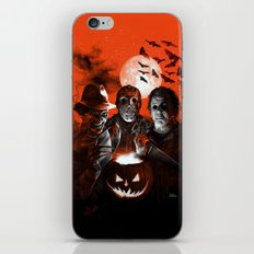 Freddy Krueger Jason Voorhees Michael Myers Super Villians Holiday iPhone & iPod Skin