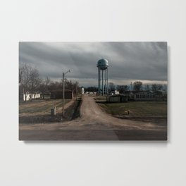 Rust Belt Town Metal Print