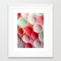 baking Framed Art Prints featuring weekend baking by Asano Kitamura