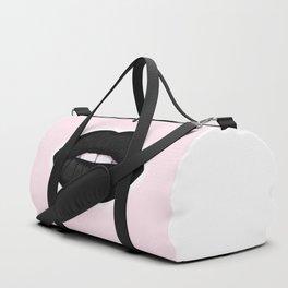 black lips Duffle Bag