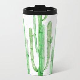 Three Amigos Cacti Green Travel Mug