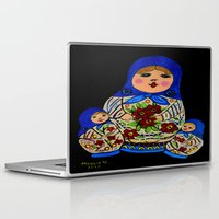 russian Laptop & iPad Skins featuring Russian dolls by maggs326