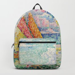 "Paul Signac ""Le Musior (Port d'Antibes)"" Backpack"