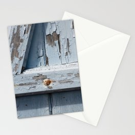 gray blue Stationery Cards