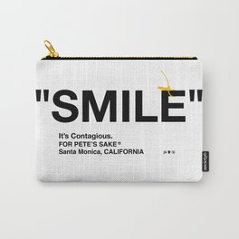 """""""SMILE"""" Carry-All Pouch"""