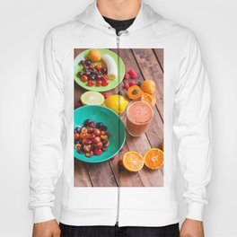 Summer Fruits Smoothie Hoody