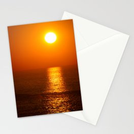 Fire Ball Sun Stationery Cards