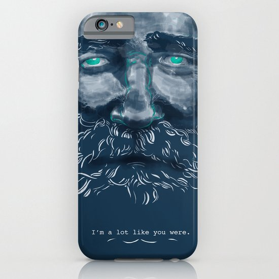 Old Man iPhone & iPod Case