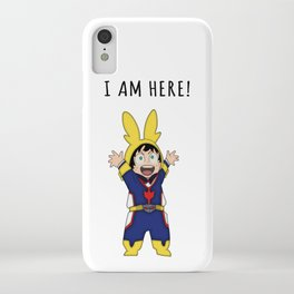 Small Might iPhone Case