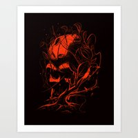 vader Art Prints featuring VADER by nicebleed