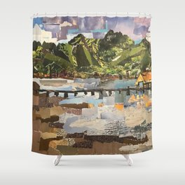 Hanelei Bay, Kaua'i Shower Curtain