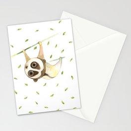 slow loris Stationery Cards