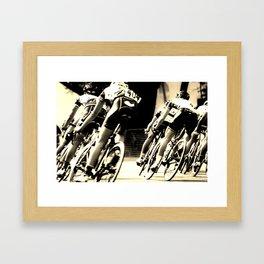 Tails Away! Framed Art Print