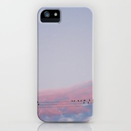 city sunset / los angeles, california iPhone Case
