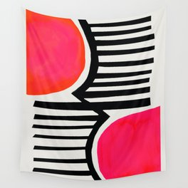 Sunset Shadows Wall Tapestry