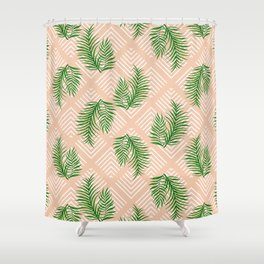 Geometries & Palms #society6 #decor #buyart Shower Curtain