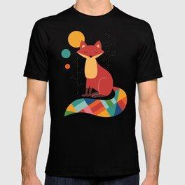 Rainbow Fox T-shirt
