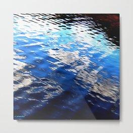 Inlet Water 3 Metal Print