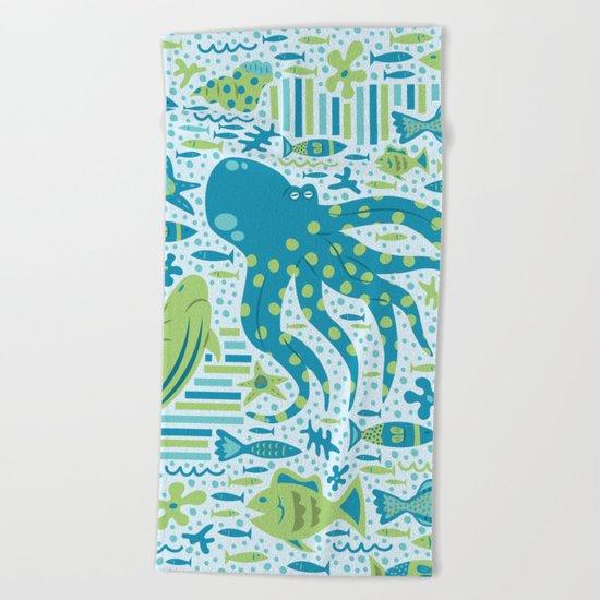 SEA PATTERNS Beach Towel