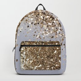 Sparkling Champagne Gold Glitter Glam #1 #shiny #decor #art #society6 Backpack