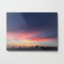 Siesta Key Beach Sunset Metal Print