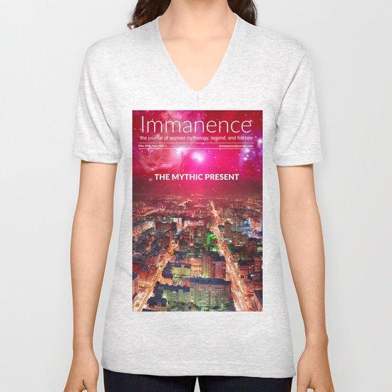 Immanence Journal T-Shirt Unisex V-Neck