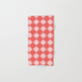 Abstract fringe square shapes. Vector pattern seamless background. Hand & Bath Towel