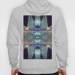 Abstract angular glow Hoody