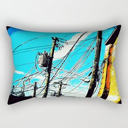 Powerlines 2138 Rectangular Pillow
