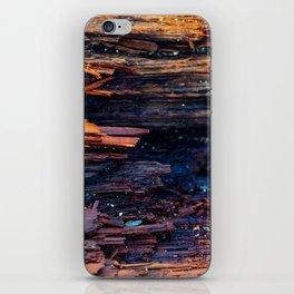 Wood grain iPhone Skin