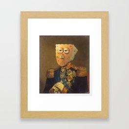 General Spongebob Portrait | Fan Art Painting Framed Art Print