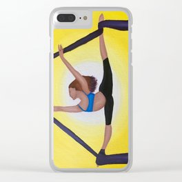 Aerial Dancer Clear iPhone Case