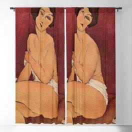 Amedeo Modigliani - Nude Sitting on a Divan Blackout Curtain