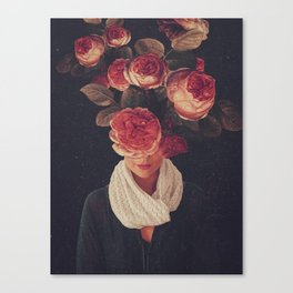 The smile of Roses Canvas Print