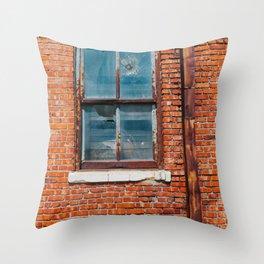 Downtown Tulsa XI Throw Pillow