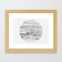 Universe by exident Framed Art Print