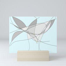The Bird Abstract Mini Art Print