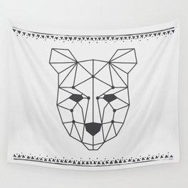 Totem Festival 2015 - Black & White Wall Tapestry