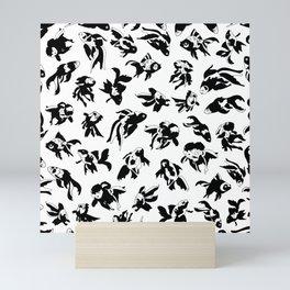 Fish Black and White Mini Art Print
