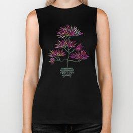 Bonsai Tree – Fuchsia Palette Biker Tank