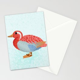Orange Duck Stationery Cards